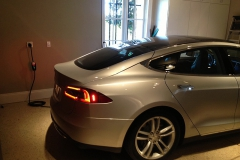 240V outlet for electric vehicle