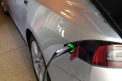 Tesla charge port