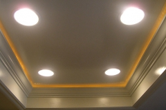 Recessed Can and Rope Lighting 1